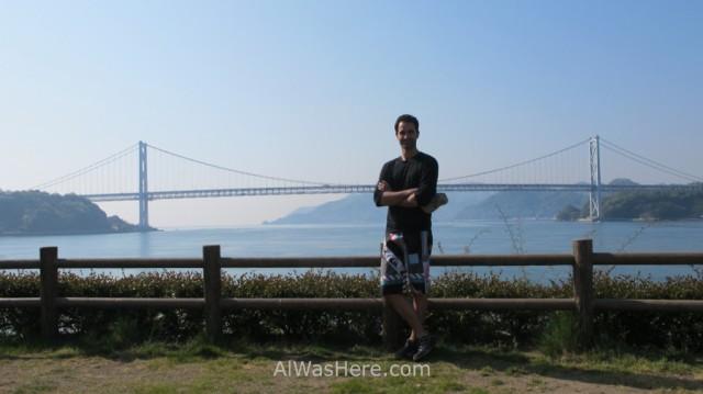 Shimanami Kaido 4. Alwashere con el Puente Innoshima, Japon. Bridge, Japan