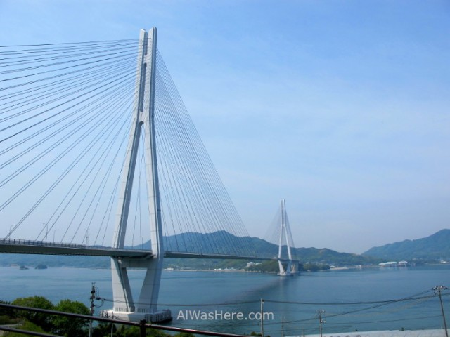 Shimanami Kaido 8. Puente Tatara, Japon. Bridge, Japan