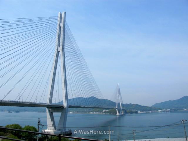 Shimanami Kaido 8. Puente Tatara, Japon. Bridge, Japan