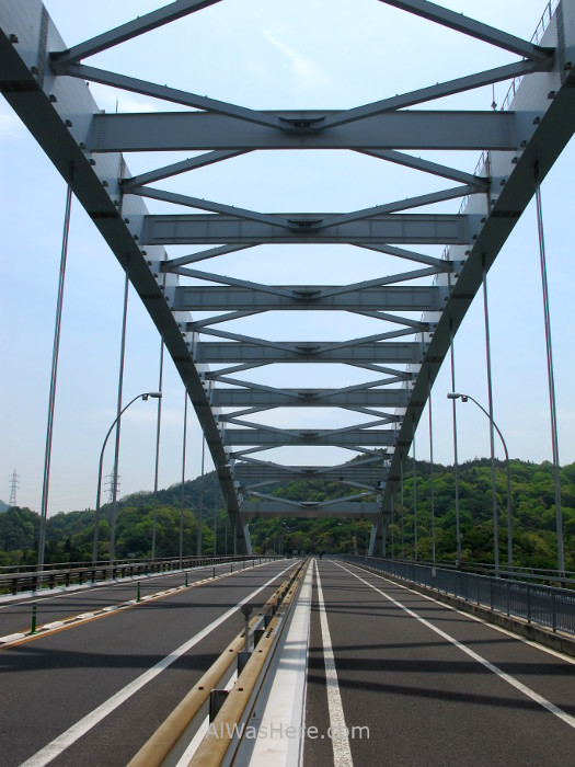 Shimanami Kaido 9. Puente Omishima, Japon. Bridge, Japan