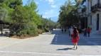 Paseo peatonal alrededor de la Acrópolis