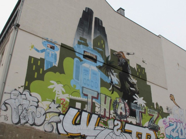Mitte 3. Graffiti Berlin, Alemania, Germany