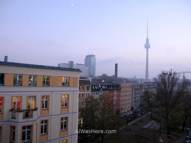 Mitte 4. Vista de la torre de televisión, Berlin, alemania. TV tower, Germany