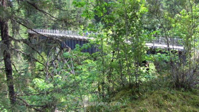 COWICHAN VALLEY TRAIL 13. 66 mileTrestle, Isla de Vancouver, Columbia Britanica, Canada. Island, British