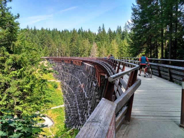 COWICHAN VALLEY TRAIL 4. Kinsol Trestle, Isla de Vancouver, Columbia Britanica, Canada. Island, British