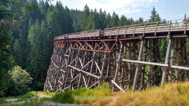 COWICHAN VALLEY TRAIL 6. Kinsol Trestle, Isla de Vancouver, Columbia Britanica, Canada. Island, British