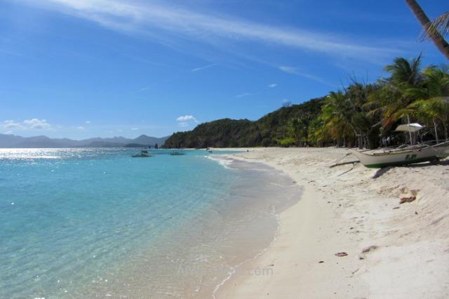 MALCAPUYA, BANANA, BULOG DOS ISLANDS 10. Malcapuya Island, Coron, Palawan, Filipinas. Philippines