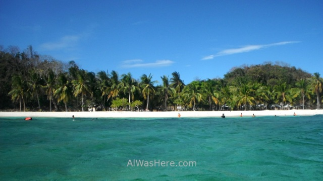 MALCAPUYA, BANANA, BULOG DOS ISLANDS 12. Malcapuya Island, Coron, Palawan, Filipinas. Philippines