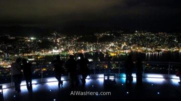 Mirador del Monte Inasa, Nagasaki, Japón