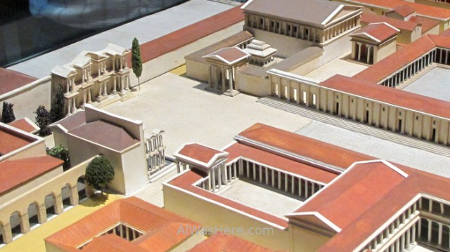 PERGAMO MUSEO 5. maqueta Mileto, Berlin, Alemania. Pergamon museum, model Germany