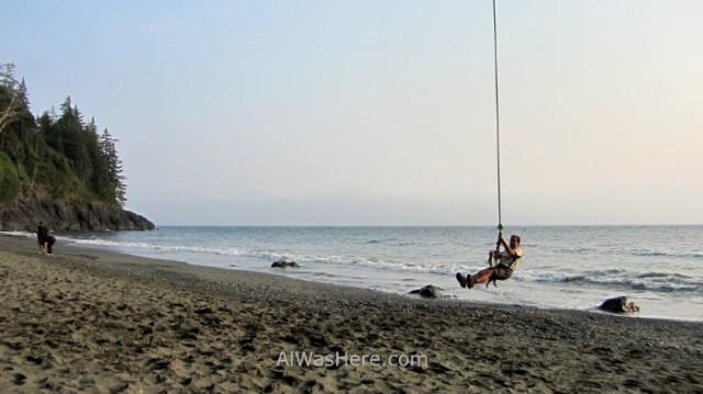 Juan de Fuca 24. China Beach, Marine Trail, Isla de Vancouver, Columbia Britanica, Canada. British, Island