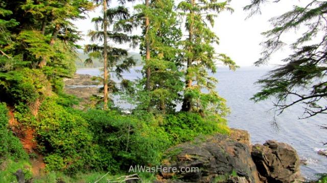 JUAN DE FUCA 38. Paisaje de costa, Marine Trail, Isla de Vancouver, Columbia Britanica, Canada. British, Island. Coastal landscape