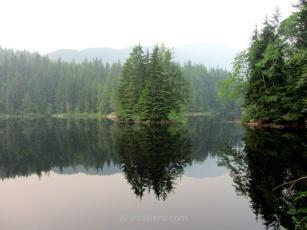 Lago Rice, Lynn Canyon Park, Vancouver