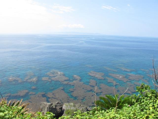 Yoron to 30. Costa entre MAEHAMA KAIGAN y HAKIBINA KAIGAN. Kagoshima, Kyushu, Japon, Japan