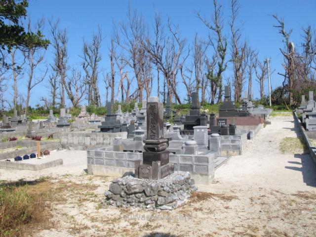 Yoron to 9. Cementerio entre Kaida Kaigan y Ooganeku Beach, Kagoshima, Kyushu, Japon, Japan