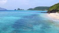 Playa en Zamami, Islas Kerama, Okinawa