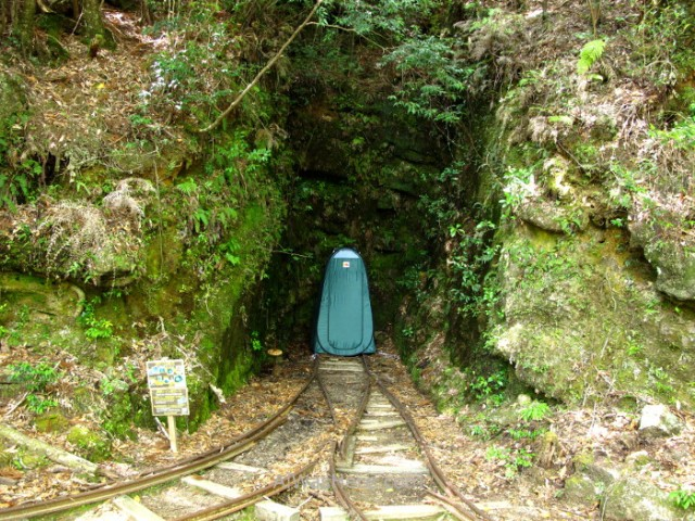 YAKUSHIMA 4. Baño, toilet, aseo, en Arakawa Trail, Japon. Japan