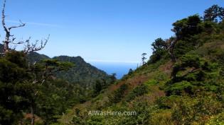 Vista desde el Taikoiwa Rock
