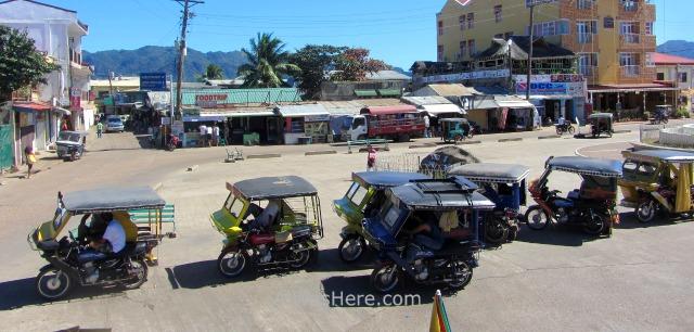 Coron 4. Triciclos Trycicles, Palawan, Filipinas