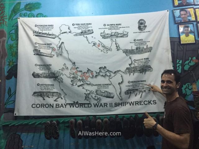Coron pecios 1. Lusong Gunboat Morazan Maru. Isla de Coron, Palawan, filipinas, buceo. Diving Philippines