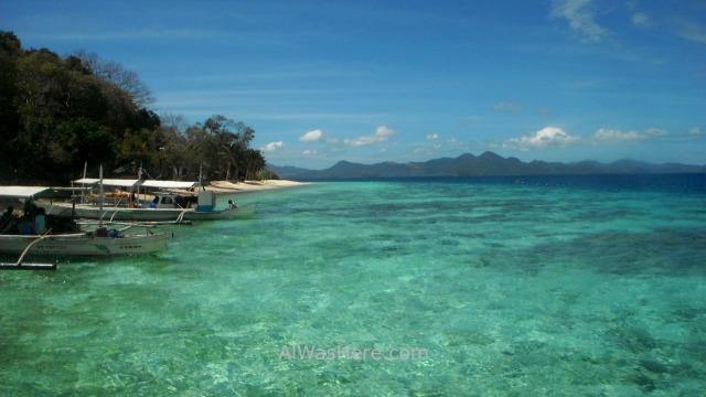 Coron problemas 2. Banana Island Palawan, filipinas. Philippines