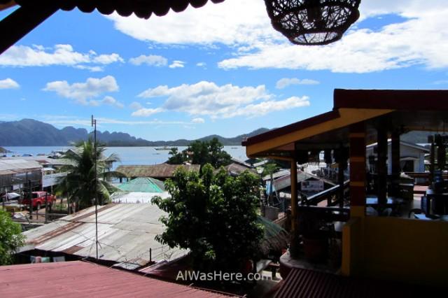 Coron town 1. Pueblo Palawan, Filipinas. Philippines