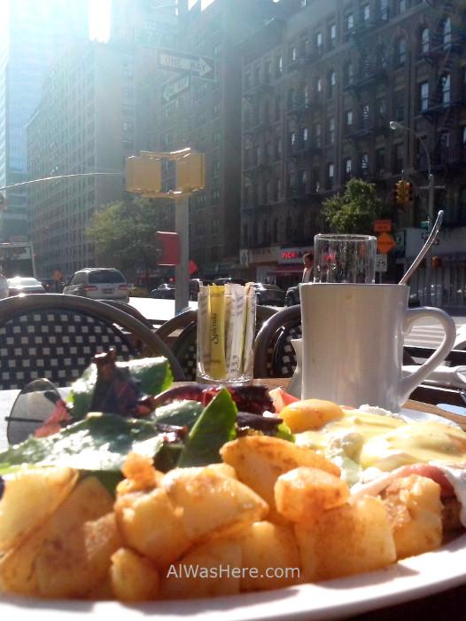 Nueva York donde comer 1. Brunch en Vella Upper East side. where to eat New
