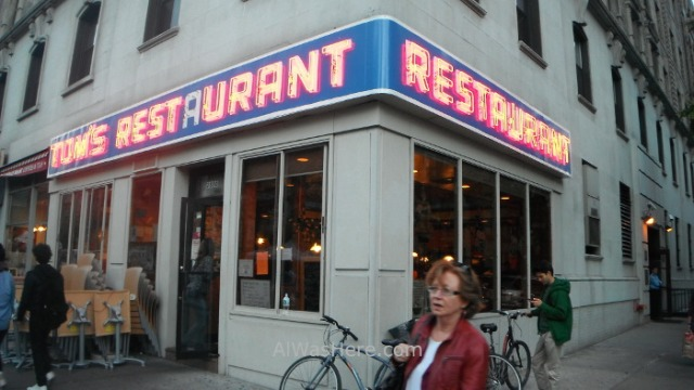 Nueva York donde comer 4. where to eat New York. Tom's restarurant Seinfield