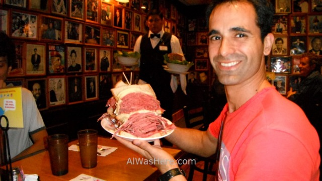 Nueva York donde comer 9. where to eat New York. Carnegie Restaurant alwashere