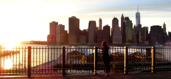 Manhattan desde Brooklyn Heights Promenade