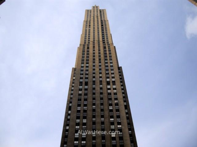 Rockefeller Center 6. 30 rock Building de día desde el Top of the Rock. view invierno winter Nueva York New