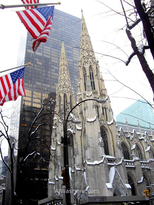 Rockefeller Center 9. Exterior de la catedral de San Patricio Plaza Nueva York New St Patrick's cathedral