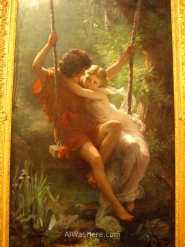 """""""Tiempo de Primavera"""", Pierre Auguste Cot, Museo Met"""