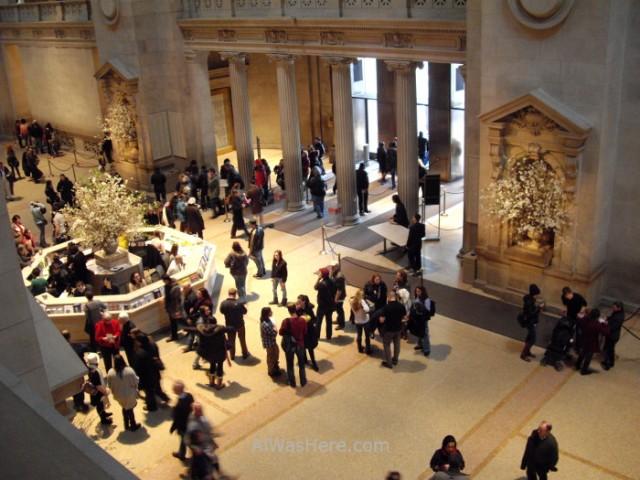 Nueva York Metropolitan 1. Entrada principal, main hall. Museo Arte, Art Museum, Nueva York. New.