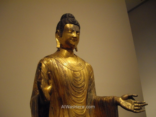 Nueva York Metropolitan 11. estatua de Buda Buddha statue Museo Arte, Art Museum, Nueva York. New.