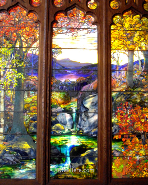Nueva York Metropolitan 2. Vidriera glass. Museo Arte, Art Museum, Nueva York. New.