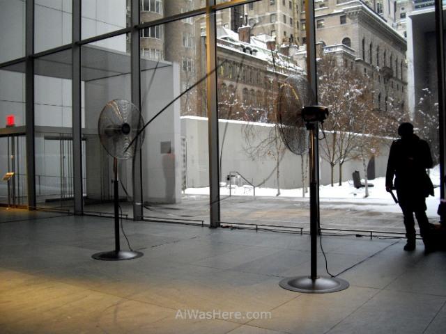 NUEVA YORK MUSEOS ARTE MODERNO 4. MoMA museum New escultura ventilador sculpture