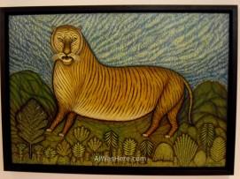 """""""Tigre"""", de Morris Hirshfield"""