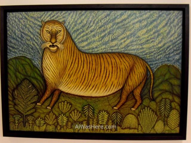 NUEVA YORK MUSEOS ARTE MODERNO 5. MoMA museum New Morris Hirshfield Tiger tigre