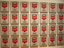 """""""Latas de sopa Campbell"""", de Andy Warhol"""