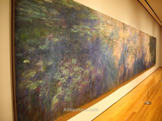 NUEVA YORK MUSEOS ARTE MODERNO 6. MoMA museum New Monet Nenufares Water Lily