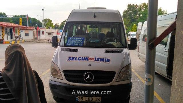 SELÇUK 5. Dolmus minibus a Esmirna Izmir