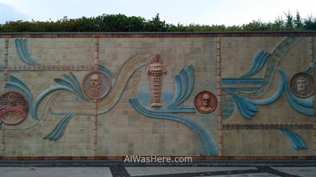 SELÇUK 6. Mural con Artemisa.
