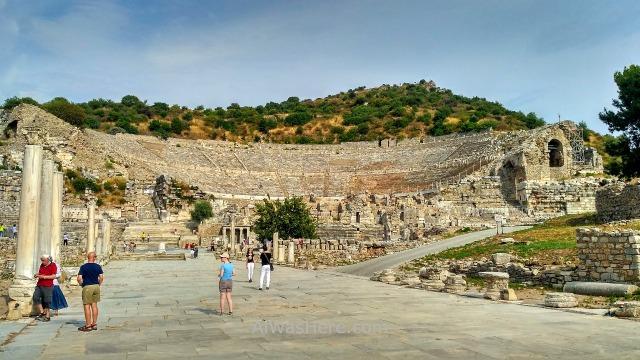 SELÇUK 8. Gran teatro de Efeso. Grand Theatre Ephesus