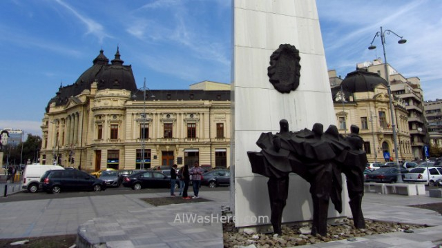 Bucarest 1. Plaza Revolucion. Bucharest Piata Revolutiei Revolution square