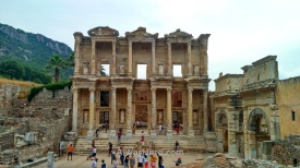 Fachada de la biblioteca de Celso, Éfeso