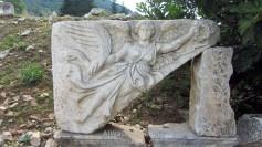 Relieve de la diosa Nike