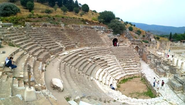EFESO 11. OdeonTurquia. Ephesus Turkey.