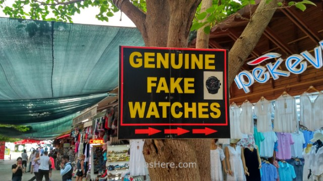 EFESO 2. Relojes falsos, fake watchesTurquia. Ephesus Turkey