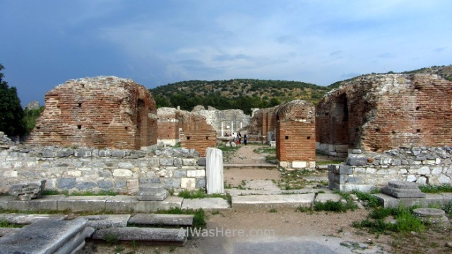 EFESO 3 Iglesia de Maria, Mary's church Turquia. Ephesus Turkey